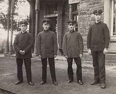 RAILWAY OFFICER. Railway Officers, August Sander, 1910. © J. Paul Getty Trust