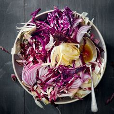 Red+cabbage+slaw