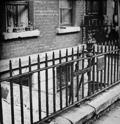 The basement of No 7 Eccles Street, fictional home of Leopold and Molly Bloom in Ulysses.