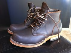 thinctank: Viberg, handmade work boots