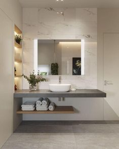 Bathroom interior design 733453489300542272 - 55 Bathroom Lighting Ideas For Every Style – Modern Light Fixtures Source by bibibiehler Bad Inspiration, Bathroom Inspiration, Bathroom Ideas, Bathroom Trends, Bathroom Inspo, Bathroom Organization, Bathroom Storage, Bathroom Colors, Shower Ideas