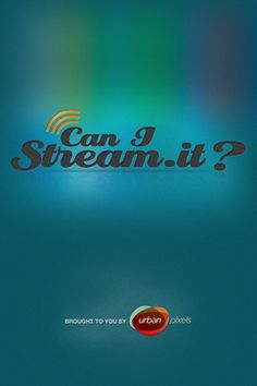 Can I Stream It by Urban Pixels: The fastest way to find streaming movies to rent or buy, across most major services. Free! #iPhone_Ap #Can_I_Stream_It #Movies #Urban_Pixels