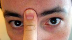 Cómo despejar los senos paranasales con la lengua y el pulgar en 20 segundos - Vida Lúcida
