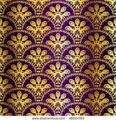 Google Image Result for http://image.shutterstock.com/display_pic_with_logo/269947/269947,1267828552,1/stock-vector-gold-on-purple-seamless-peacock-sari-pattern-eps-jpg-version-also-available-48024769.jpg