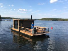 Floating Picnic Table, Floating Boat, Floating House, Water House, Boat House, Tiny House, Pontoon Boat Furniture, Cabana, Small Houseboats