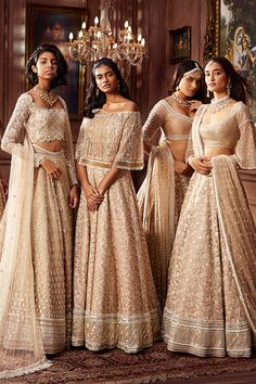 Neeta Lulla Spring Summer Campaign on Behance Indian Bridesmaid Dresses, Asian Bridal Dresses, Indian Gowns Dresses, Indian Bridal Outfits, Indian Fashion Dresses, Bridesmaid Outfit, Dress Indian Style, Indian Designer Outfits, Indian Wedding Bridesmaids