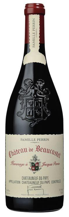 100 Points! -Robert Parker's Wine Advocate 2010 Château de Beaucastel Châteauneuf-du-Pape Hommage a Jacques Perrin