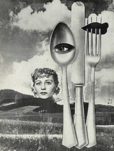 Untitled Collage by Karel Teige, 1941