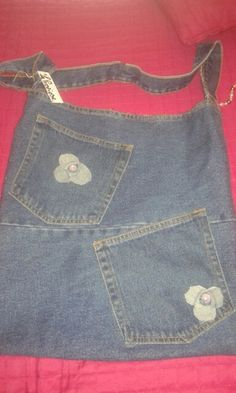 Borsa 2 tasche jeans Denim  Baylepreziose  (fai da te)