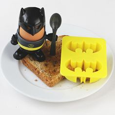Gift Idea For Kids BATMAN EGG CUP AND TOAST CUTTER  #Christmas #Christmas2016  #Xmas  #ILoveXmas  #XmasIsComming #Xmaslet  #Recipes #ChristmasDecoration #Christmastree #Christmassong  #Gifts  #ChristmasGifts  #ChristmasCountdown