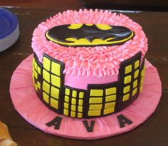 Work | K Squared Dallas, Cakes by Posey, Batman Cake for Girls