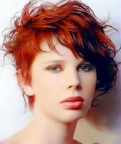 Surprising 1000 Images About Short Red Curly Hair On Pinterest Short Red Hairstyles For Women Draintrainus