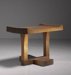 Exceptional Studio Craft Cherrywood Bench, Stool or Coffee Table, USA, 1950 2