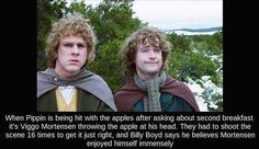 Behind the scenes facts from the Lord of the Rings (35 Photos)