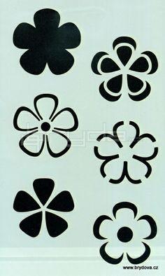 flores en capas