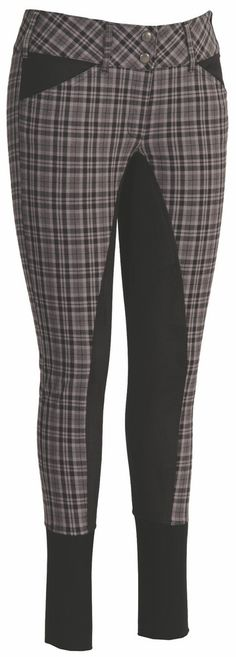 Plaid breeches. I've always thought these were kind of ugly but over the years I've found myself wanting a pair for schooling in at home.
