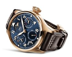 "IWC Celebrates The Little Prince's Finest Hour BIG PILOT'S WATCH PERPETUAL CALENDAR EDITION ""LE PETIT PRINCE"" (See more at: http://watchmobile7.com/articles/iwc-celebrates-little-prince-s-finest-hour) (1/3) #watches #iwc @Independent World Watches"