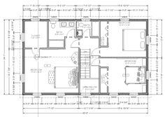Plan 44045td center hall colonial house plan for Second story additions floor plans