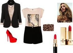 """""""Short suit 3"""" by yellegadon on Polyvore"""