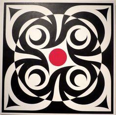"""No Boundary"" by Coast Salish artist Dylan Thomas"