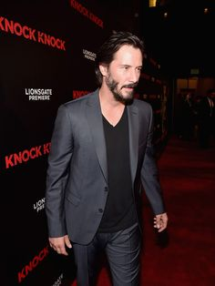 Keanu Reeves Photos Photos - Premiere of Lionsgate Premiere's 'Knock Knock' - After Party - Zimbio
