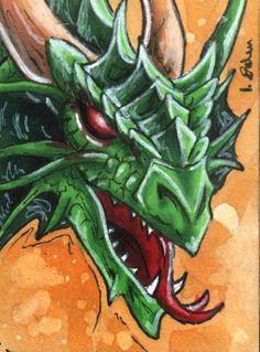 Green Dragon by GuiltyOne on DeviantArt