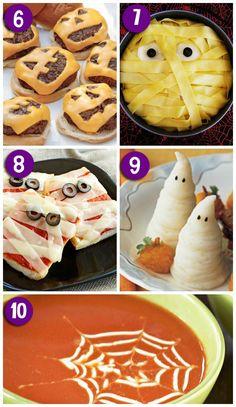 Fun Dinner Ideas for Halloween Night