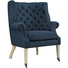 Chart Tufted Arm Chair