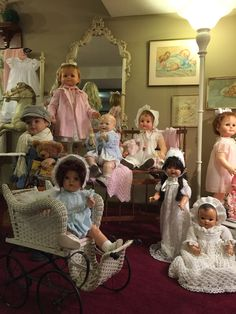 Dolls from the 1920's thru the early 60's