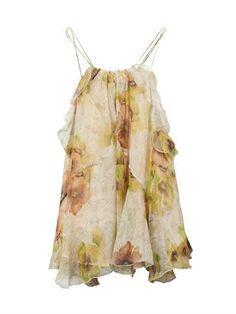 Isabel Marant, Riley Floral Print Silk Top, Original, Authentic, Half Price