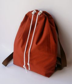 Drawstring Backpack, Pouch, Textiles, Backpacks, Sewing, Bags, Fashion, Tela, Totes
