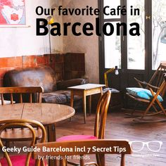 For those wondering what kind of secret tips we include in our Geeky Guides, have a look at this local beauty. It's our favorite cafe in Barcelona, and we don't hold back - all our guides are by friends for friends! Get the 5+2 secret tips for Barcelona for free here http://hostelgeeks.com/5-local-tips-for-barcelona/ #barcelona #cafe #hipster #nowifi #geekyguide #spain #secrettips #friends #vintage #bohemian #coffeelover #travelgram #instagram #traveler #eurotrip #catalunya #barna #bcn…