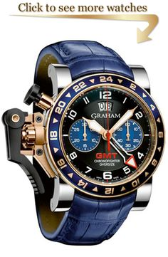 Graham Chronofighter Oversize GMT Collection