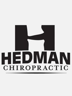 Clever Logo For Hedman Chiropractic Located In Gardner KS And Joplin MO