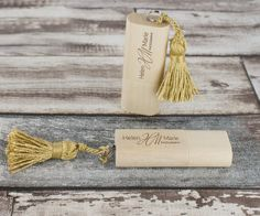 Our Nature USB Flash Drive model with some spiffy tassels.