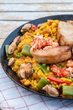 Paella kochen - ein kleines Rezept
