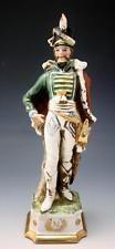 C1910 Capodimonte Di Pietro, Figura De Porcelana Francês Napoleão Geral Com Espada