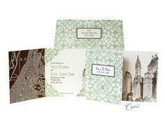5th Avenue Rococo - Wedding Invitations - Ceci Ready-to-Order Collection - Ceci Wedding - Ceci New York