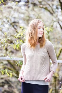 Sweater knitting pattern - $10