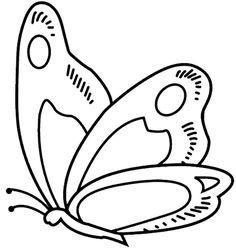 Schmetterling Malvorlagen – OkuloncesiTR Preschool Kindergarten – Join in the world Butterfly Quilt, Butterfly Drawing, Butterfly Crafts, White Butterfly, Butterfly Mobile, Bird Template, Butterfly Template, Applique Templates, Applique Patterns