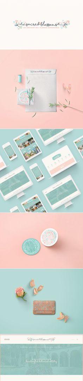 Sacred Blossoms Packaging + Website Design Branding Graphic Design Web Design www.sacredblossoms.com