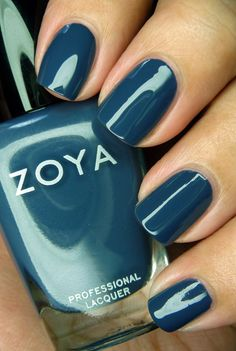 Zoya- Natty- a stunning turquoise/ teal mix, and one of the best creams in this color family that I've seen. No streaking, great wear time.
