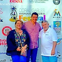 Tenor Sergio Marin with fans. Sergio performed at the Coral Gables Hispanic Cultural Festival yesterday October 21, 2017, on Caracol International Radio and Television. Great job Sergio you were magnificent.  Bravo Bravo! !  Volvistes a tu publico loco y los pusistes emocionados. Search Sergio Marin Tenor on Youtube to hesr the Voice on this man.  Meet Sergio Marin Tenor Nov 9th, 2017. CLICK VISIT button.  https://pin.it/uXYxb9F