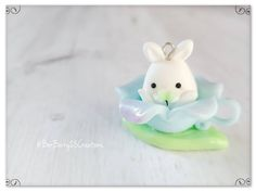Polymer clay bunny Polymer Clay Kawaii, Bunny, Create, Floral, Artist, Random, Instagram, Cute Bunny, Flowers