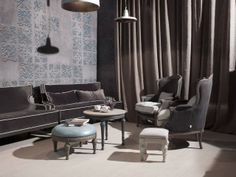 living Conference Room, Concept, Curtains, Table, Furniture, Home Decor, Blinds, Decoration Home, Room Decor