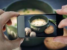 Postare foto di cibo, non è più un peccato  #sanomangiare