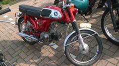 Honda CD50 moped brommer