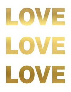 FREE LOVE LOVE LOVE printable from Classy Clutter.