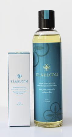 Elabloom Body + 30ml Facial Oil Combo