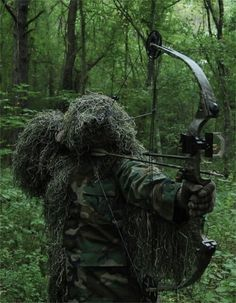 how to make your own ghillie suit at home